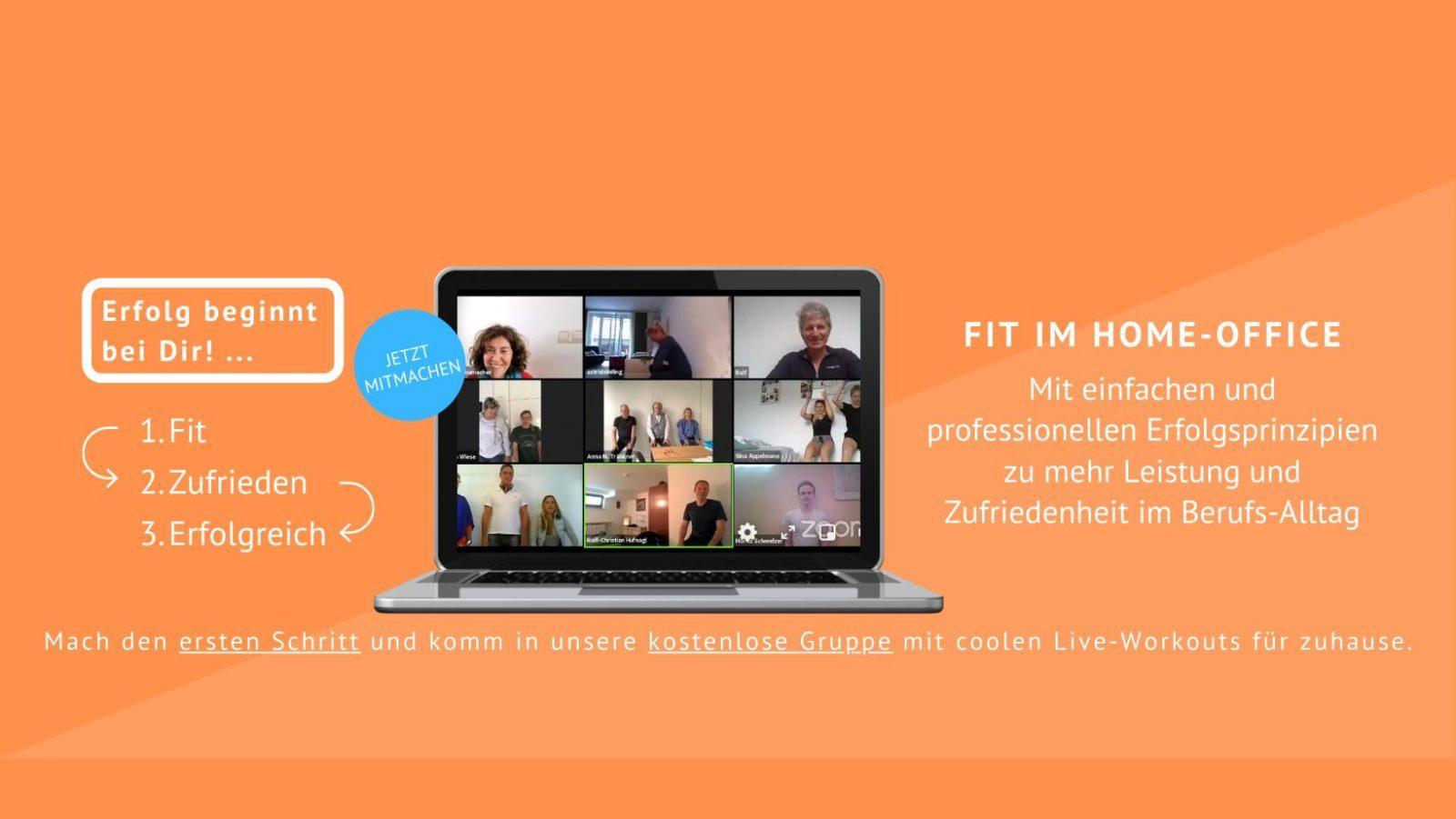 Fit-Zufrieden-Erfolgreich: Die Wandsitzen- Challenge Tag 1