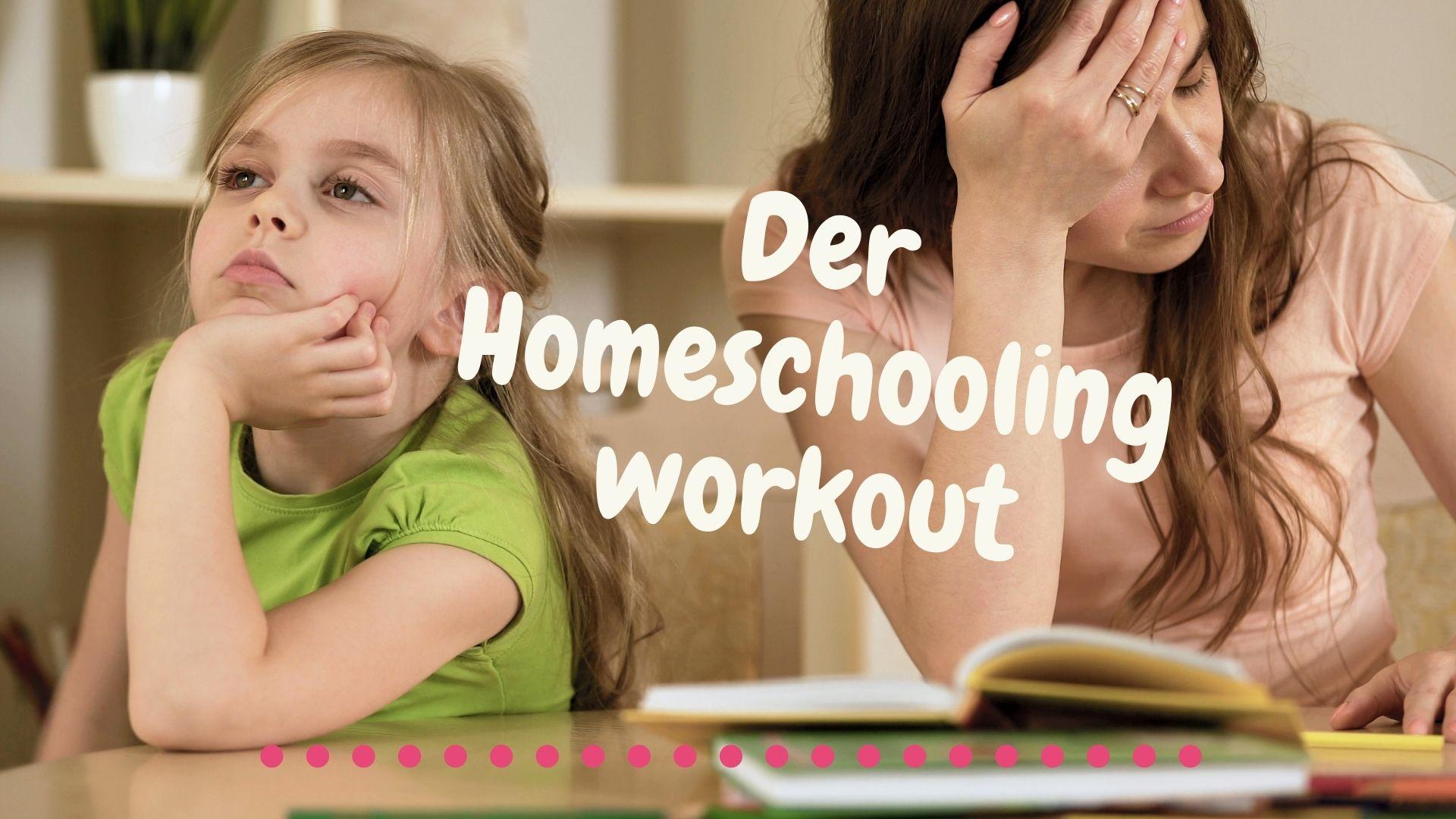 Fit in Schlips und Pumps goes homeoffice: Der Homeschooling- Work-out