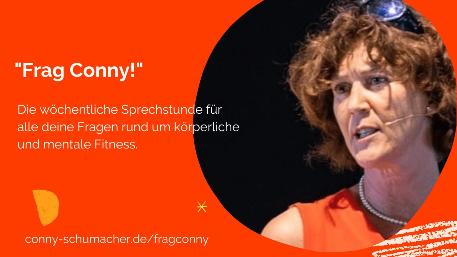 Fit in Schlips und Pumps goes homeoffice: Sprechstunde mit Conny Schumacher